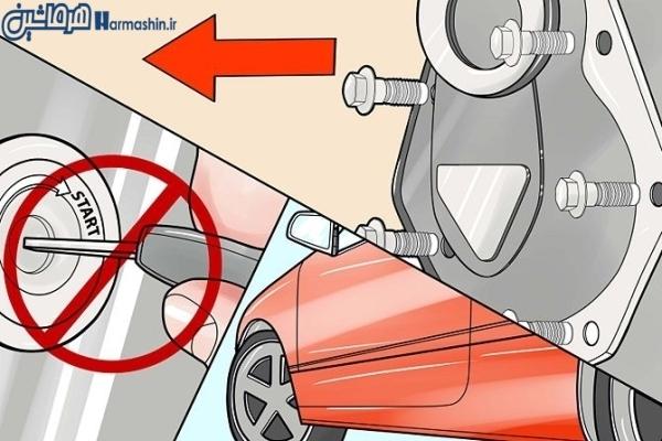 روشن نشدن موتور ماشین