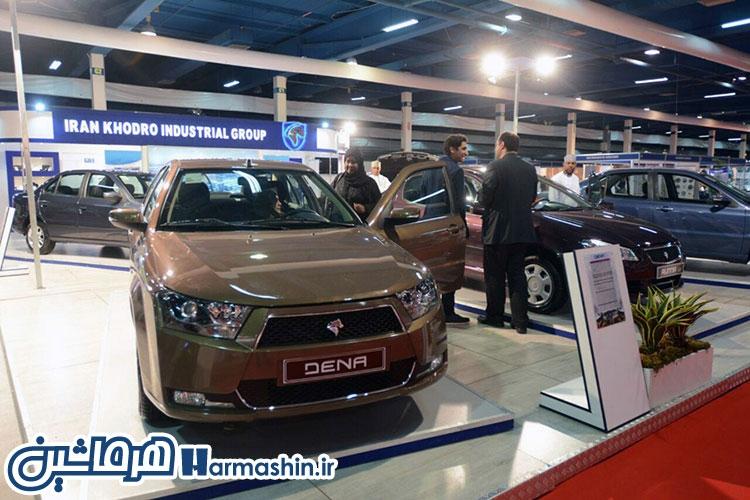 ایران خودرو در نمایشگاه عمان